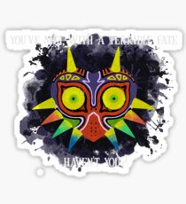 Terrible Fate (With Quote) Sticker