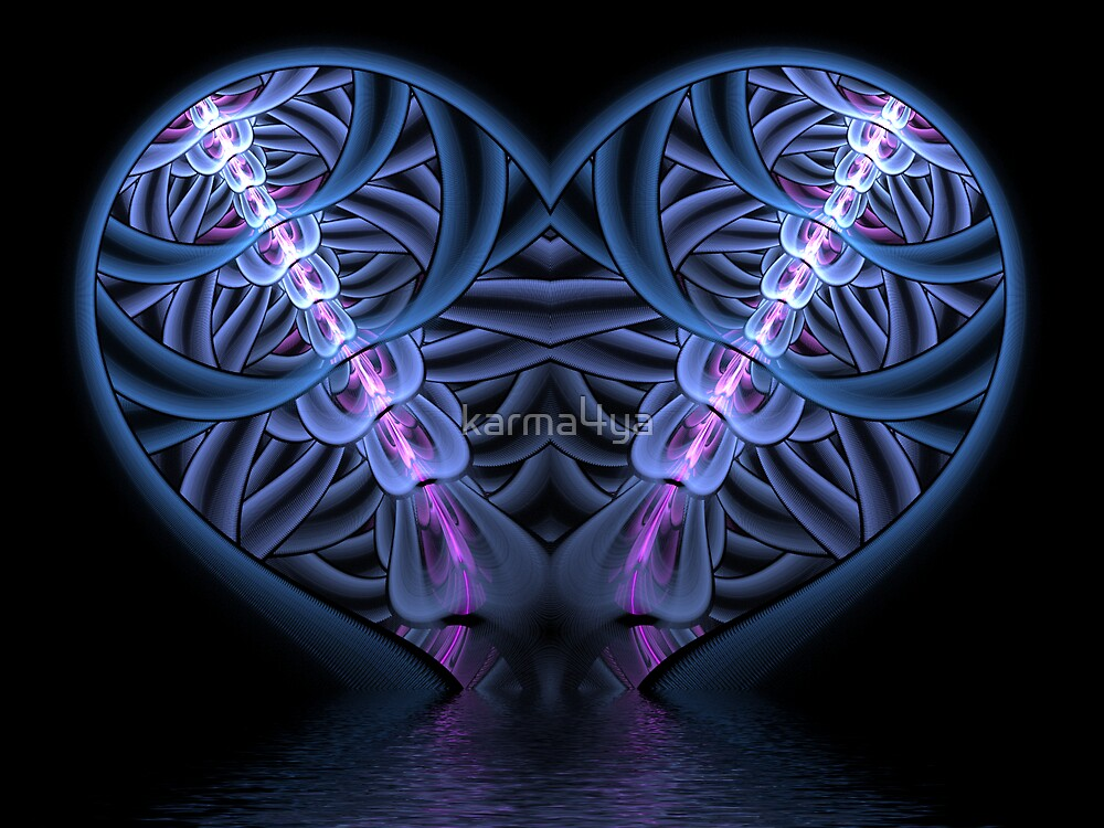 My Flowing Heart by karma4ya