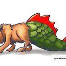 Dragon Cat by Byron  McBride