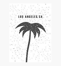 Los Angeles, CA. Palm tree... Photographic Print