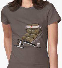 CHOCO ABDOMINAL Women's Fitted T-Shirt