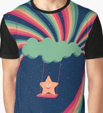 Happy Star Graphic T-Shirt
