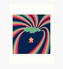 Happy Star Art Print