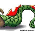 Dragon Rabbit by Byron  McBride