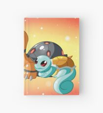 Turtle And Tortoise Pokemon Hardcover Journal
