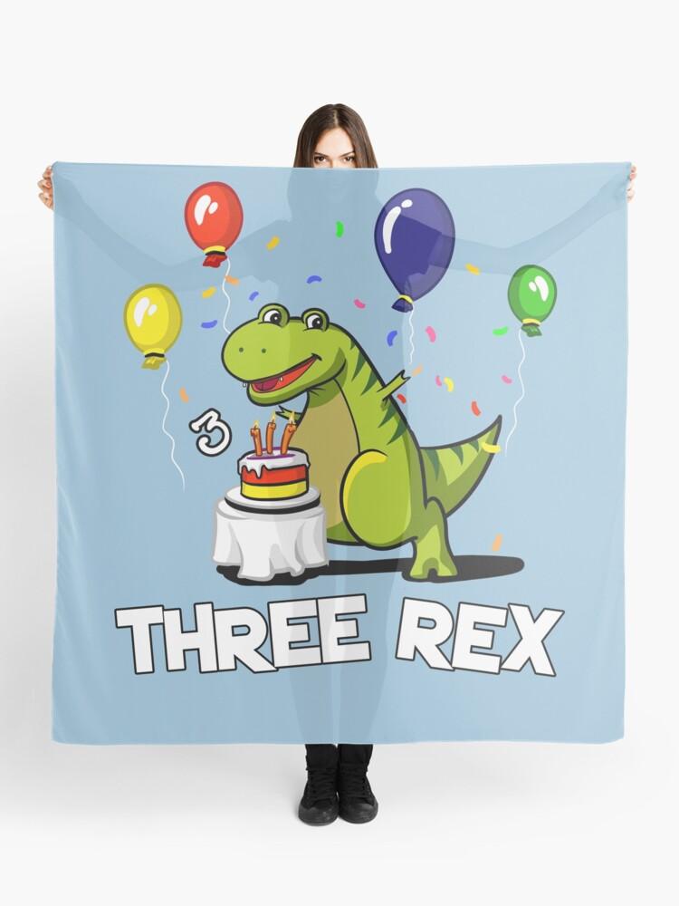 Pañuelo Dinosaurio T Rex De Dibujos Animados De 3 Rex 3rd Birthday