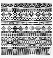Tribal pattern Poster