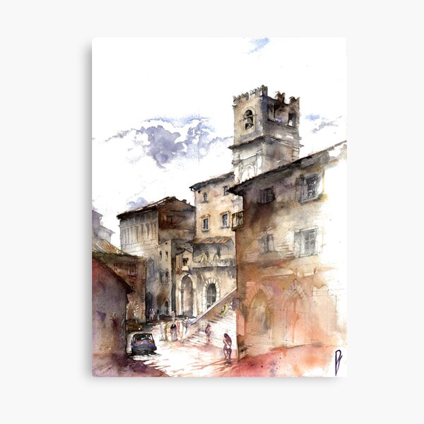 Cortona, Italy Canvas Print