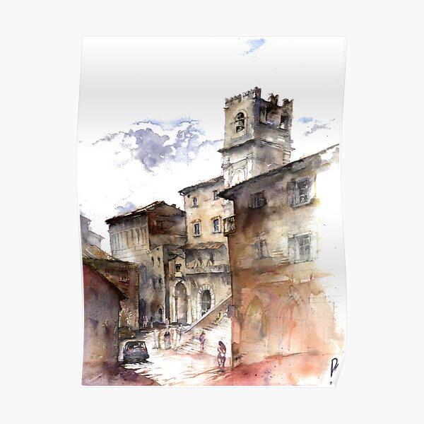 Cortona, Italy Poster