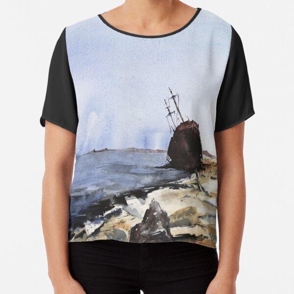 shipwreck Chiffon Top