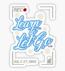 """Kesha """"Learn To Let Go"""" Sticker"""