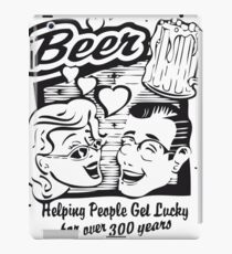 Beer helping people get lucky for over 300 years iPad Case/Skin