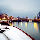 snow on the Amstel by J.K. York