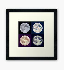 Lámina enmarcada Luna (Supermoon) al rescate