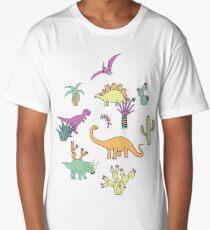 Dinosaur Desert Long T-Shirt