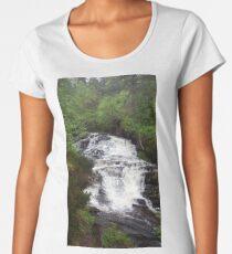 Scottish waterfall  Women's Premium T-Shirt