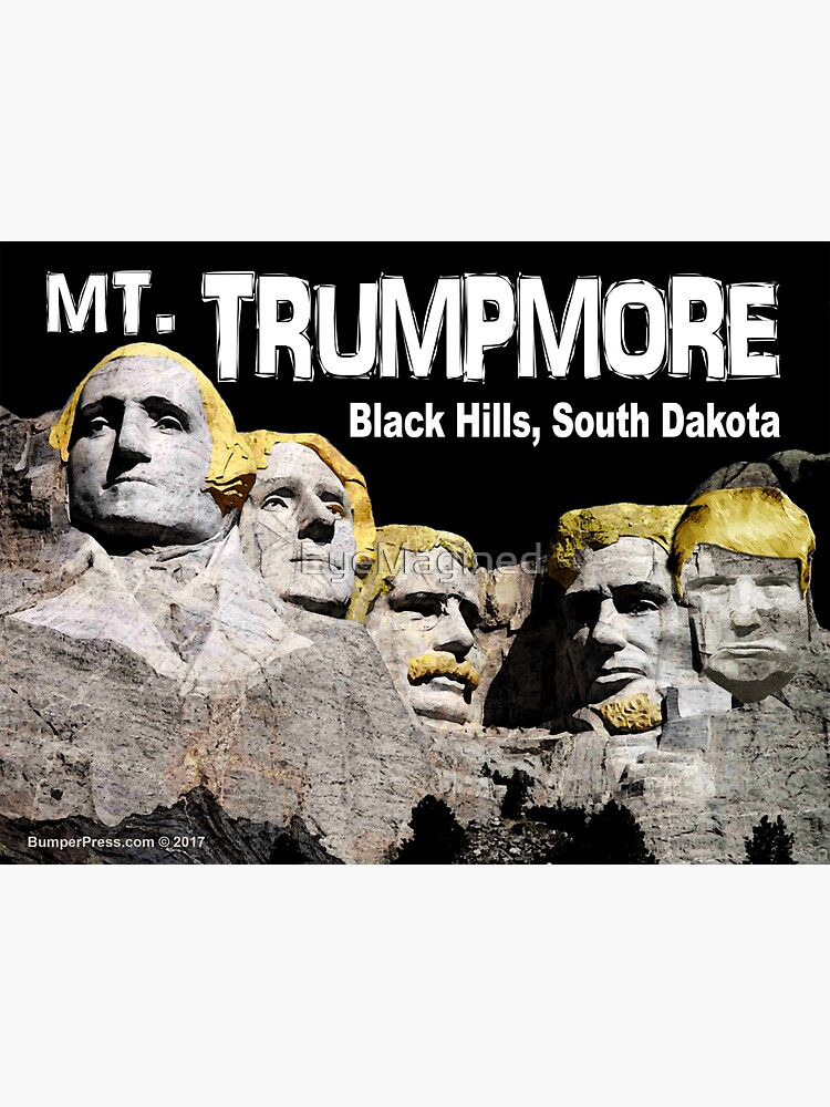 Mt. Trumpmore by EyeMagined