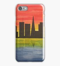 City in the night iPhone Case/Skin