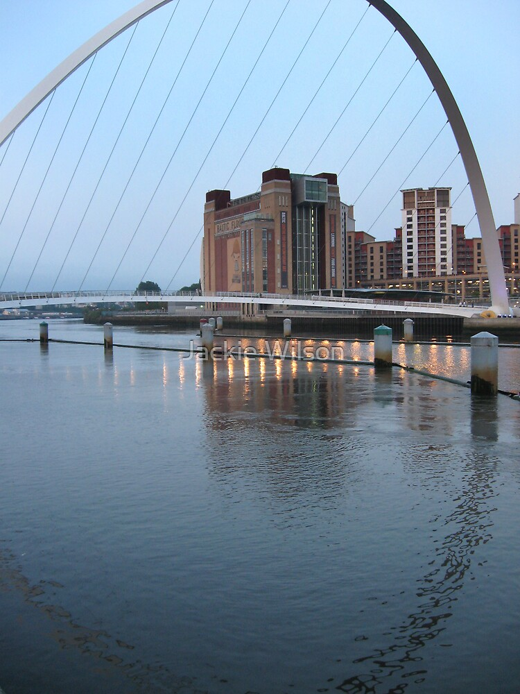 River Tyne with approaching dusk by Jackie Wilson