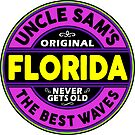 SURFING FLORIDA THE BEST WAVES SURF SURFER UNCLE SAM'S WAX by MyHandmadeSigns