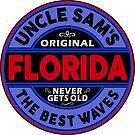 SURFING FLORIDA THE BEST WAVES SURF SURFER UNCLE SAM'S WAX 2 by MyHandmadeSigns