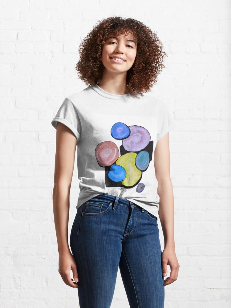 Alternate view of Art Doodle No. 12 Classic T-Shirt