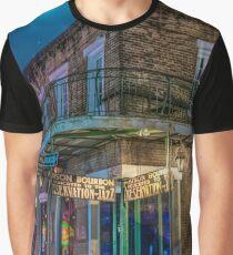 Moon Indigo Graphic T-Shirt