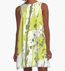 Color blot spots A-Line Dress