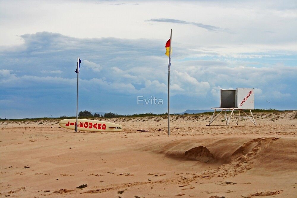 Between the Flags by Evita