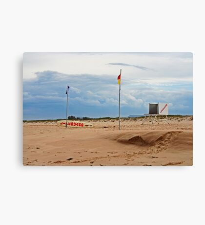 Between the Flags Canvas Print
