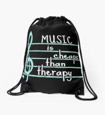 Mochila de cuerdas la música es más barata que la terapia