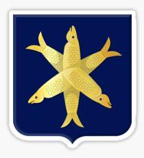 Coat of Arms of Zandvoort, Netherlands Sticker