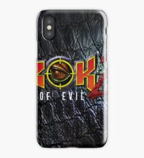 Turok 2 Box  iPhone Case/Skin