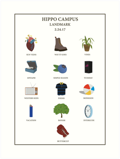 LANDMARK POSTER von thenaturegirl