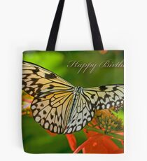 Happy Birthday Butterfly Tote Bag