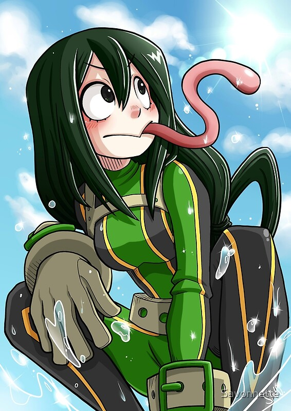 Quot Froppy Tsuyu Asui Quot Posters By Savonnette Redbubble