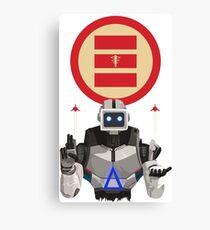 Robot Logic Canvas Print