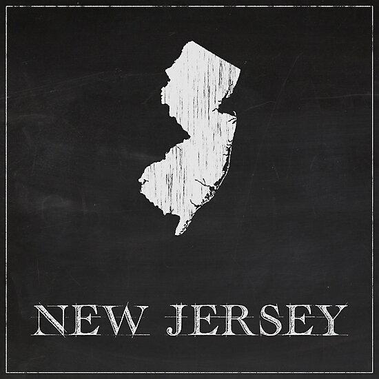 New Jersey - Chalk by FinlayMcNevin