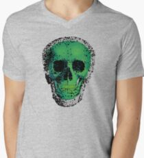 Pixel Skull green T-Shirt