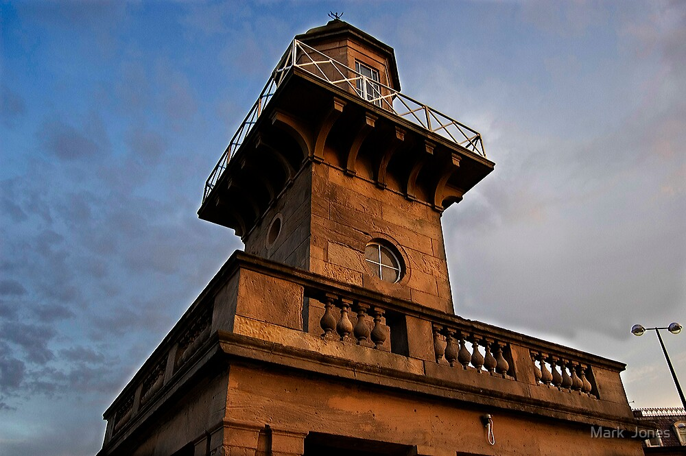 The Lower Lighthouse by Mark  Jones