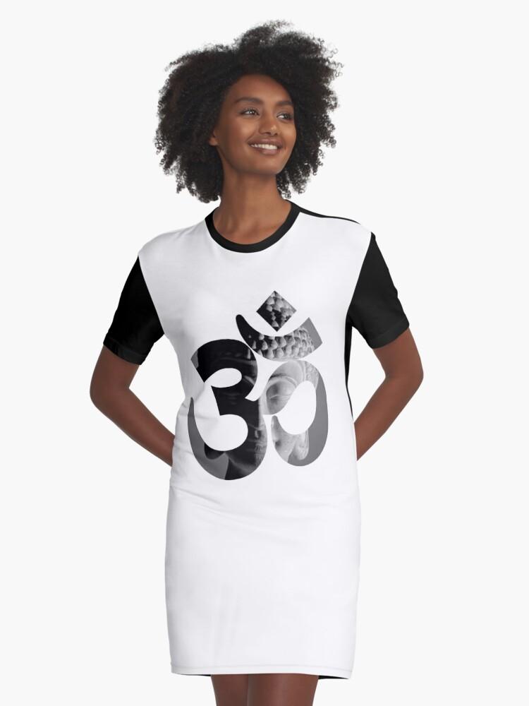 Yoga symbols Ohm Om Aum distressed kids boys children sizes 100/% cotton t-shirt