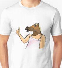 Horse head unisex t shirt