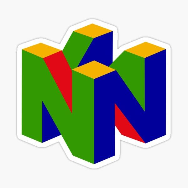 Nintendo 64 Merchandise! Sticker