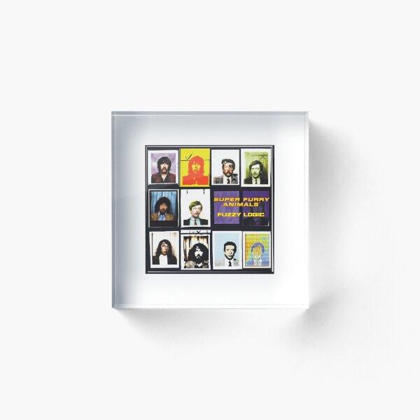 Super Furry Animals - Fuzzy Logic Acrylic Block