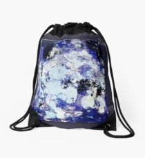Non Figurative Painting does not mean abstract Drawstring Bag