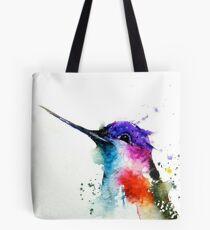Watercolor lovely hummingbird  Tote Bag