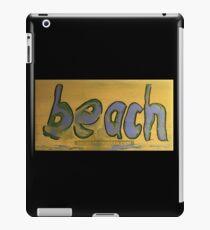 beach iPad Case/Skin