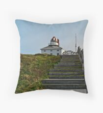Cape Spear . St.John's, NL Throw Pillow