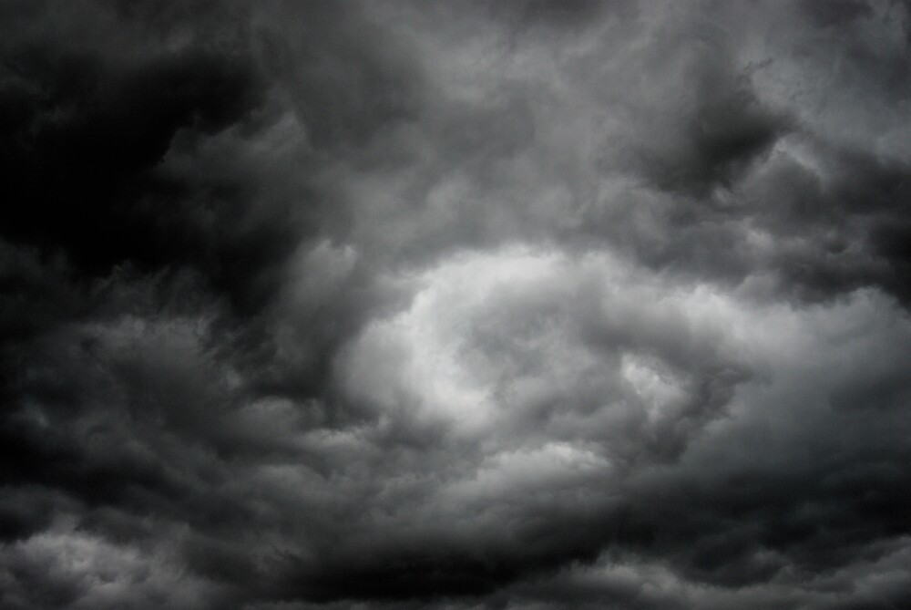 Storm Clouds -  June 8th by Robert Baker