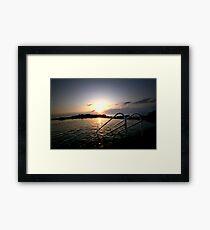 Rockpool... Framed Print